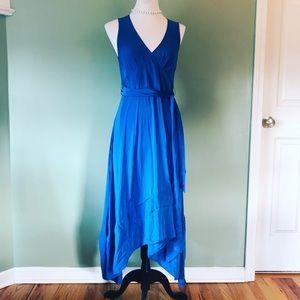 Marc Jacobs royal blue silk dress size 8